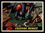 1962 Bubbles Inc Mars Attacks #37   Creeping Menace Front Thumbnail