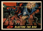 1962 Mars Attacks #43   Blasting the Bug  Front Thumbnail