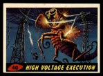 1962 Topps / Bubbles Inc Mars Attacks #40   High Voltage Execution Front Thumbnail