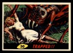 1962 Mars Attacks #30   Trapped Front Thumbnail