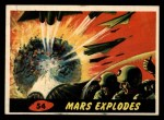 1962 Mars Attacks #54   Mars Explodes  Front Thumbnail
