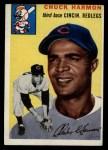 1954 Topps #182  Chuck Harmon  Front Thumbnail