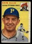 1954 Topps #179  Gair Allie  Front Thumbnail