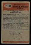 1955 Bowman #155  Jerry Norton  Back Thumbnail