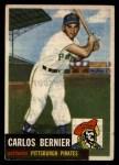 1953 Topps #243  Carlos Bernier  Front Thumbnail