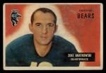 1955 Bowman #154  Zeke Bratkowski  Front Thumbnail