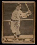 1940 Play Ball #51  Don Heffner  Front Thumbnail