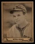 1940 Play Ball #52  Myril Hoag  Front Thumbnail