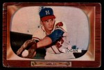 1955 Bowman #180  Johnny Logan  Front Thumbnail