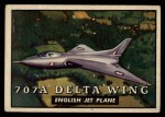 1952 Topps Wings #111   707A Delta Wing Front Thumbnail