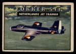 1952 Topps Wings #119   Fokker S14 Front Thumbnail