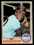 1968 Topps #389  Jay Johnstone  Front Thumbnail