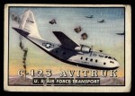 1952 Topps Wings #48   C-123 Avitruk Front Thumbnail