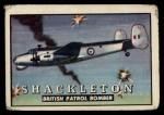 1952 Topps Wings #65   Shackleton Front Thumbnail