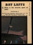 1966 Topps Batman Color #45 CLR  Batman & Robin Back Thumbnail