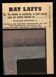 1966 Topps Batman Color #3 CLR  The Joker Back Thumbnail