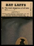 1966 Topps Batman Color #55 CLR  The Penguin Back Thumbnail
