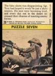 1966 Topps Rat Patrol #20   The False Alarm Was Disappointing Back Thumbnail