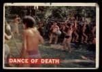 1956 Topps Davy Crockett #9 ORG  Dance of Death  Front Thumbnail