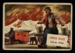 1954 Topps Scoop #107   Circus Blaze Front Thumbnail