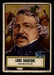 1952 Topps Look 'N See #92  Louis Daguerre  Front Thumbnail