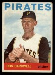 1964 Topps #417  Don Cardwell  Front Thumbnail