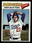 1977 Topps #620  Don Sutton  Front Thumbnail