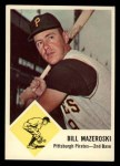 1963 Fleer #59  Bill Mazeroski  Front Thumbnail