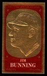 1965 Topps Embossed #17  Jim Bunning  Front Thumbnail
