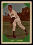 1960 Fleer #54  Lefty Gomez  Front Thumbnail
