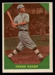 1960 Fleer #41  Home Run Baker  Front Thumbnail