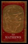 1965 Topps Embossed #26  Eddie Mathews  Front Thumbnail