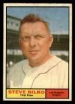 1961 Topps #184  Steve Bilko  Front Thumbnail