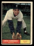 1961 Topps #112  Chico Fernandez  Front Thumbnail