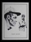 1950 Callahan Hall of Fame #44  Willie Keeler  Front Thumbnail