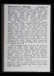 1950 Callahan Hall of Fame #44  Willie Keeler  Back Thumbnail