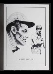 1950 Callahan Hall of Fame #44  Willie Keeler  Front Thumbnail