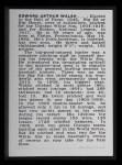 1950 Callahan Hall of Fame #76  Ed Walsh  Back Thumbnail