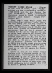1950 Callahan Hall of Fame #36  Lefty Grove  Back Thumbnail