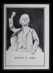 1950 Callahan Hall of Fame #48  Judge Landis  Front Thumbnail