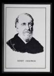 1950 Callahan Hall of Fame #12  Henry Chadwick  Front Thumbnail