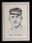 1950 Callahan Hall of Fame #52  Christy Mathewson  Front Thumbnail