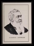 1950 Callahan Hall of Fame #11  Alexander Cartwright  Front Thumbnail