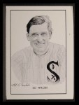 1950 Callahan Hall of Fame #76  Ed Walsh  Front Thumbnail