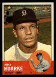 1963 Topps #224 COR Mike Roarke  Front Thumbnail