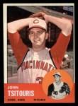 1963 Topps #244  John Tsitouris  Front Thumbnail