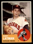 1963 Topps #426  Barry Latman  Front Thumbnail