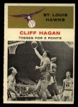 1961 Fleer #53   -  Cliff Hagan In Action Front Thumbnail