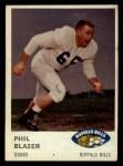 1961 Fleer #139  Phil Blazer  Front Thumbnail