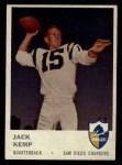 1961 Fleer #155  Jack Kemp  Front Thumbnail